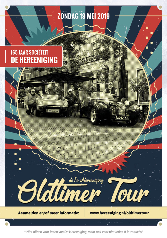 1e Hereeniging Oldtimer Tour   19 mei 2019